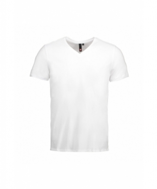 Heren V-Nek T-Shirt ID
