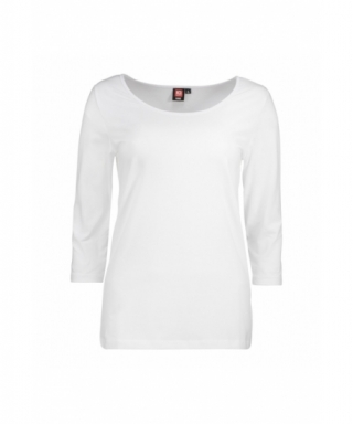 Dames Stretch T-Shirt 3/4...