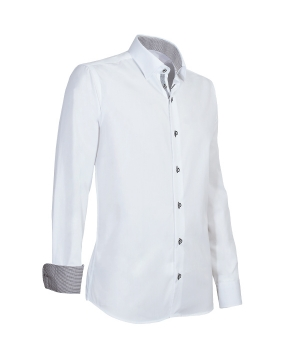 Overhemd Modern met accent
