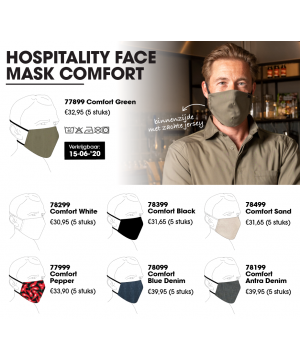 Mondmasker Comfort  Chaud...