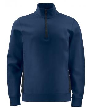 Sweatshirt met Ritssluiting...